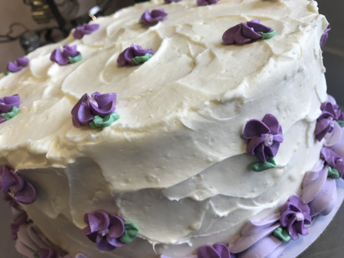 Lemon Lavendar Cake