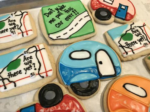Summer Vacation! Sugar Cookies