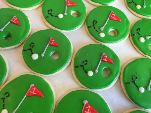 Hole in One! Sugar Cookies