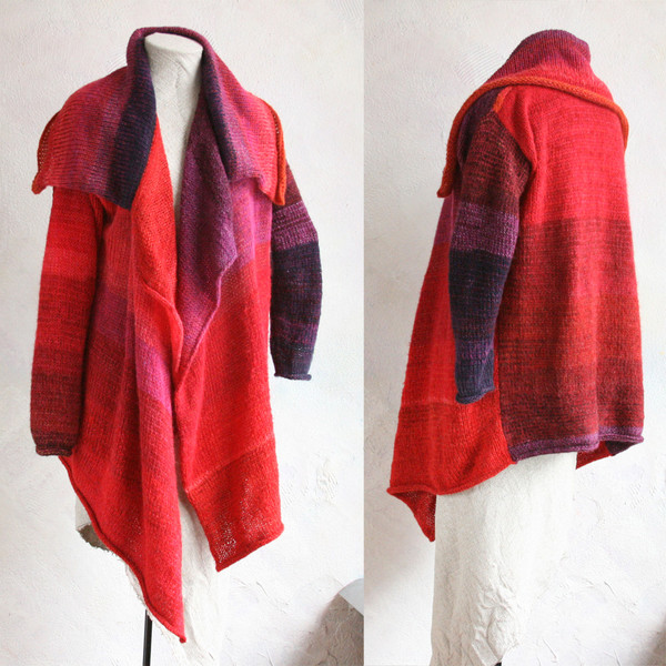 autumn rose Annie cardigan