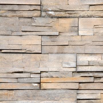 Photo of Glacier Peak color way of NW Stacked Stone Veneer