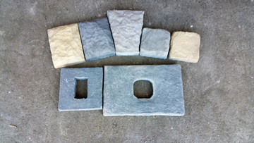 Consider these items for your install. Key Stone, outlet block, light block