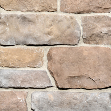 Lime Stone. With a look that echoes the time-honored feel of textured marble, this stone creates a contemporary rustic beauty. Its basic uniform pattern makes it easy and simple to install. Stones range from 2 to 7 inches high and 6 to 20 inches long. Delivery available. Interior or exterior.