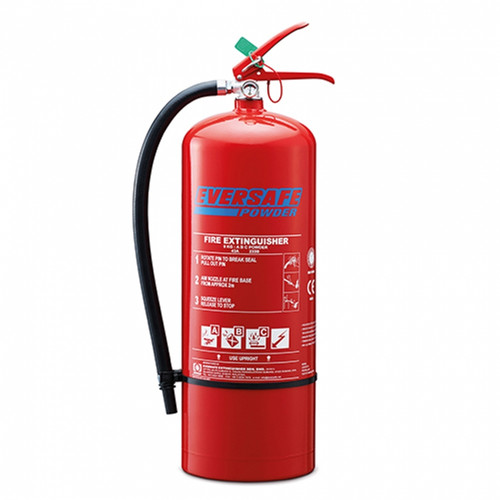 Eversafe ABC Stored Pressure Type Dry Powder Portable Fire Extinguisher EED-9 (MZES06)