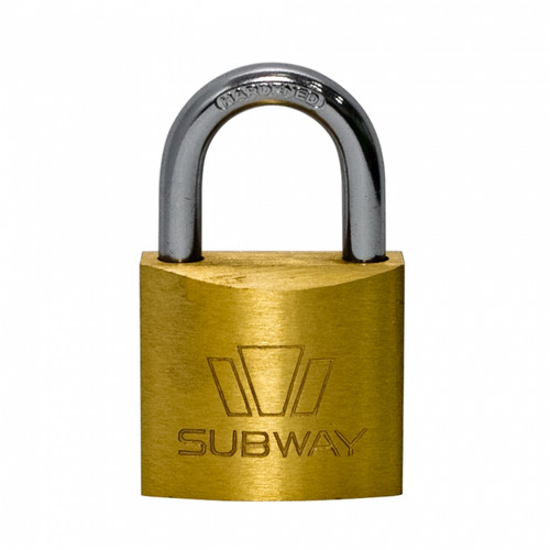 Subway Brass Padlock #263 (PL014)