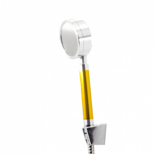 Figo Aluminium Shower Head c/w 1.5m hose and holder (yellow) FG-A-8328 (SHP104)