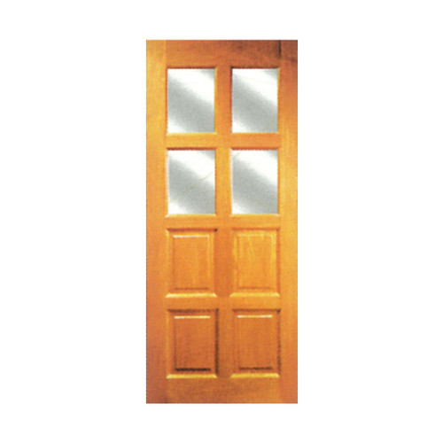 "Solid Meranti Door SG-14 ( 83"" x 33 6/8"")"