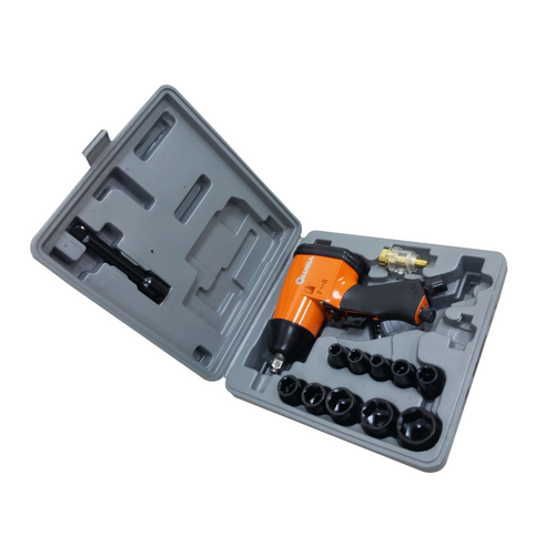 """Quasa 1/2"""" Light Duty Air Impact Wrench With Kit"""
