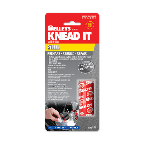 Selleys Knead It Steel 50G