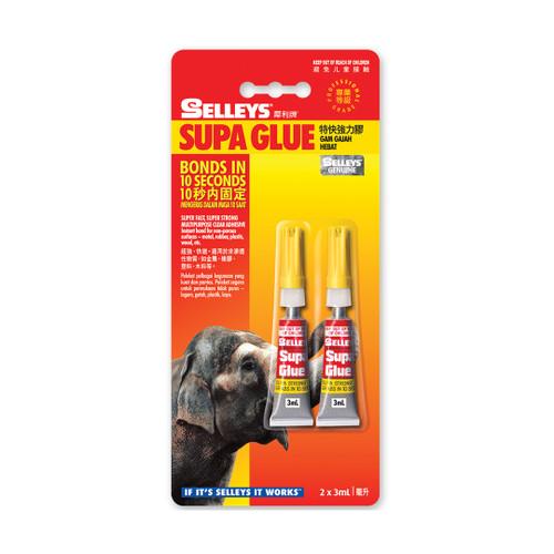 Selleys Supa Glue 1G X 3Pc