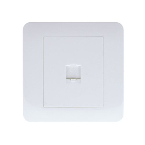 My Home Diy White 1 Gang Telephone Socket