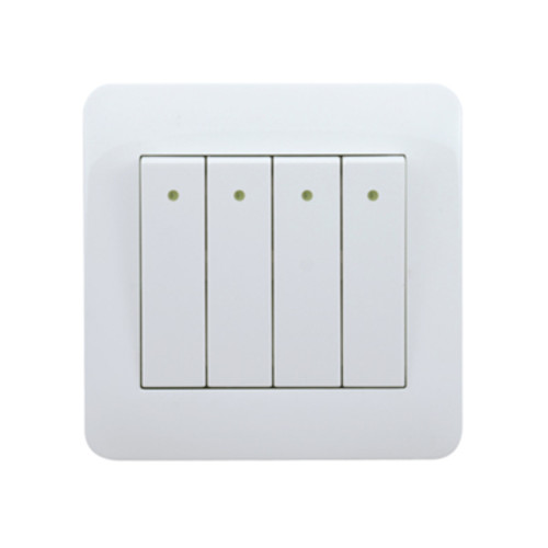 My Home Diy White 4 Gang 1 Way Switch