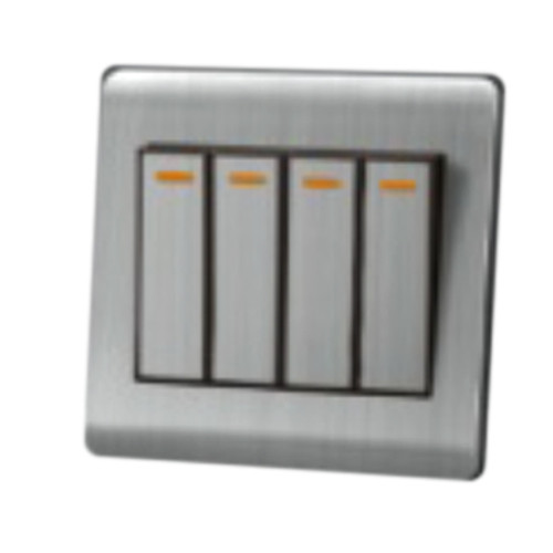 My Home Diy Silver 4 Gang 2 Way Switch
