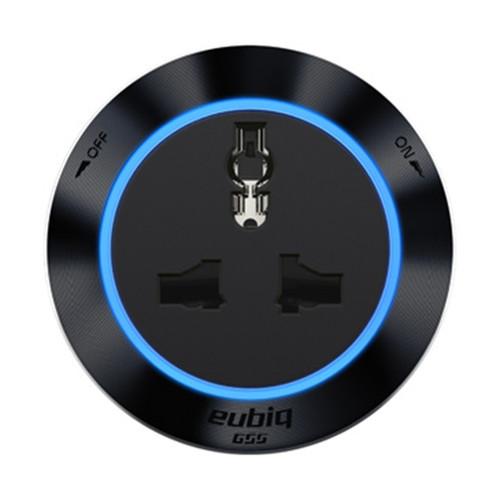 Eubiq Itl3 Premium International Adaptor 'Black'
