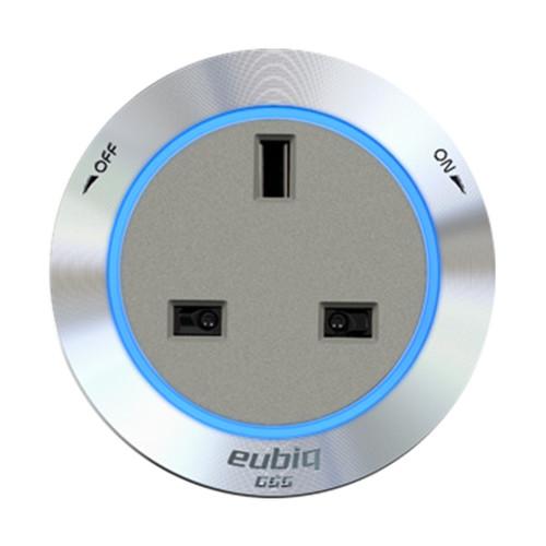 Eubiq Bs3 Premium Socket Adaptor 'Titanium'