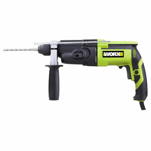 Worx 3-F Rotary Hammer 800W WU-340D.1 C/W ACC