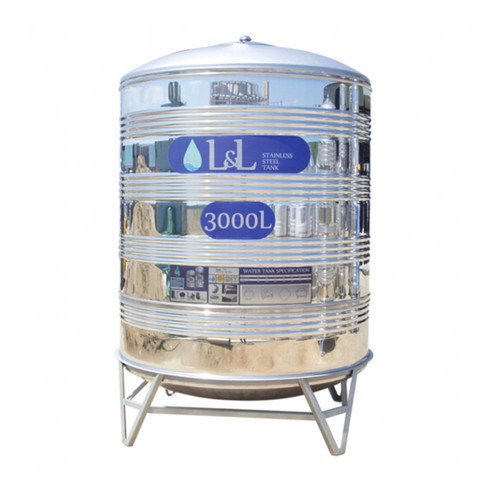 L&L Stainless Steel Water Tank VRS3000A