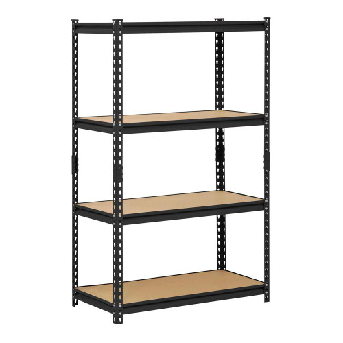 2 in 1 Rack (Box Type) 4 Level with Plywood Shelves