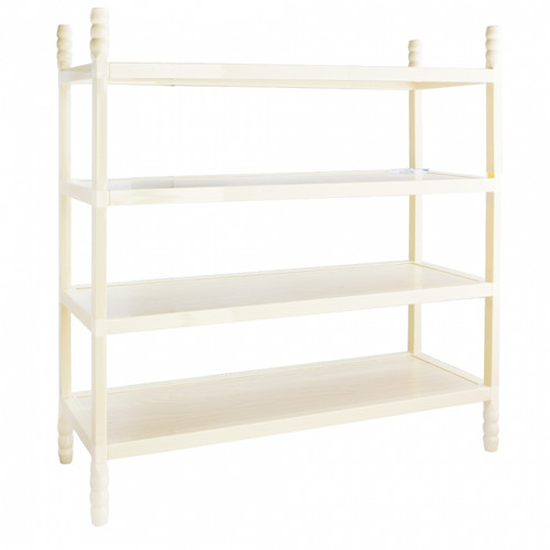 LiaoXin 4 layer wooden shoe rack 6834B