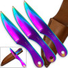 Jack Ripper Trinity Titanium Throwing Knives Set