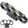 USA Heavy Duty Champaign Belt Buckle & Knuckle