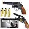 HFC HG-131B Gas Powered Revolver Pistol in Black