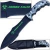 Zombie Outbreak Response Knife Hybrid Extreme Full Tang 12.5in Grey Survival EDC