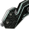 Alpha Tactical Glass Breaking Folding Knife 3CR13 Steel Blade & Belt Cutter