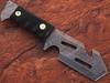 White Deer Tracker Damascus Steel Wharncliffe Tanto Guthook Skinner