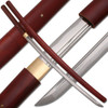 Shirasaya Functional Katana Bushido Rosewood Sword Full Tang Battle Ready