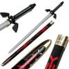 Zelda Twilight Master Sword DARK LINK Hyrule Triforce Replica Black Skyward