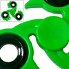 Spikester Fidget Tri-Spinner Green Fireball Focus ADHD Finger Toy EDC Stress Relief