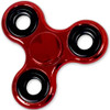 Shiny Red Metallic Color Fidget Tri-Spinner