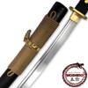 MOSHIRO Modern Sporting Sword Tactical Wakizashi of Honshou 1045 High Carbon w 550 Paracord