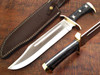 WHITE DEER D2 Steel Extreme Duty XXL Bowie Knife Large Independent Survival Implement D-2