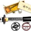 MOSHIRO Shadow Warrior Handmade Katana Sword - White Edition Battle Ready