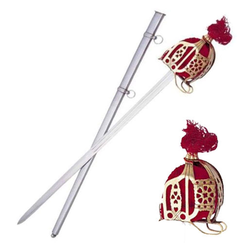 Scottish Replica 18th Century Scottish Basket Hilt Broad Sword