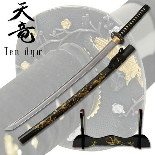 Tenryu TR-012 Hand Forged Samurai Sword 40.5in Overall