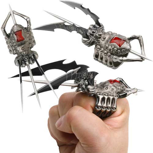 Spider Ring Finger Claw
