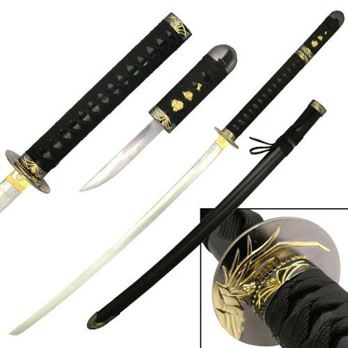 Runouni Orchid Samurai Katana Sword  W/ Concealed Tanto