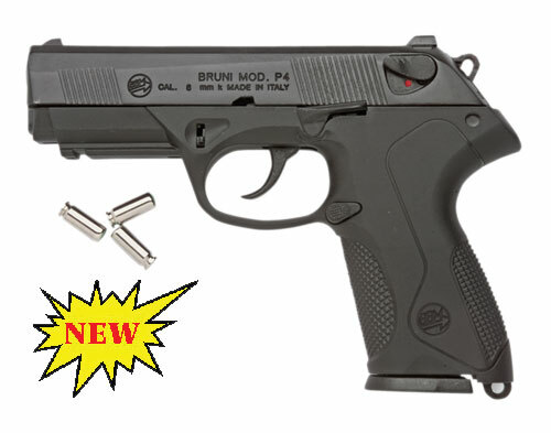 Replica P4 Automatic Blank Firing Gun Black Finish