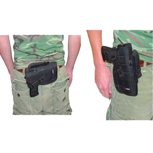 Big Pistol Belt Holster - Black