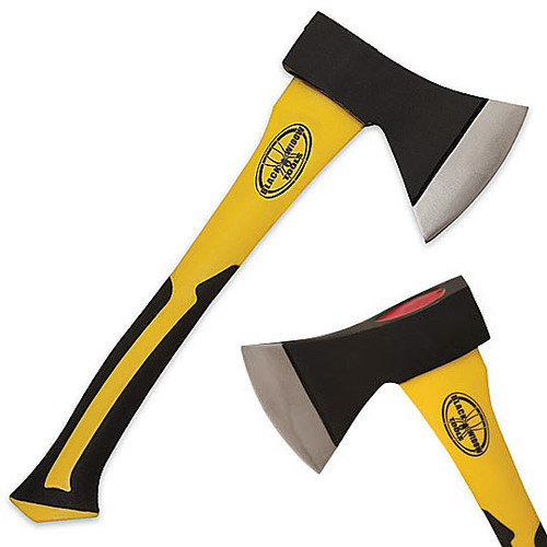 Demolition Tools - Tough Hatchet w/ Yellow Handle