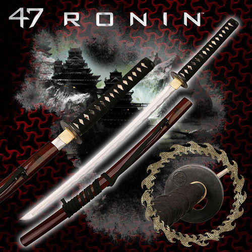 47 Ronin Happy Time Movie Sword Replica.