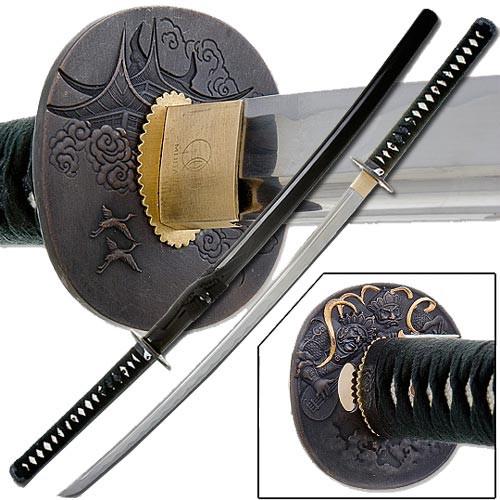 Bushido Musashi - Handmade Temple Samurai Sword