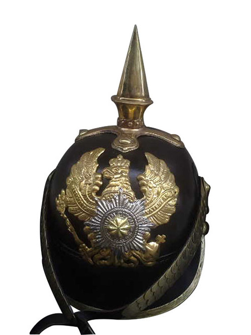 WWI German Pickelhaube Spike Helmet