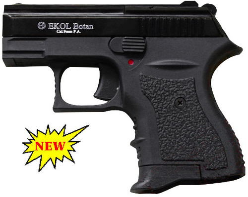 Botan Blank Firing Black Finish Caliber: mm