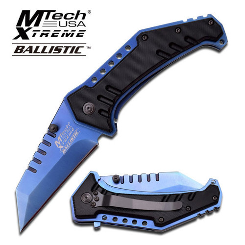 MTECH EXTREME SPRING ASSISTED KNIFE - BLUE