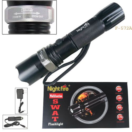 Night Fire - Multifunction SWAT Flashlight