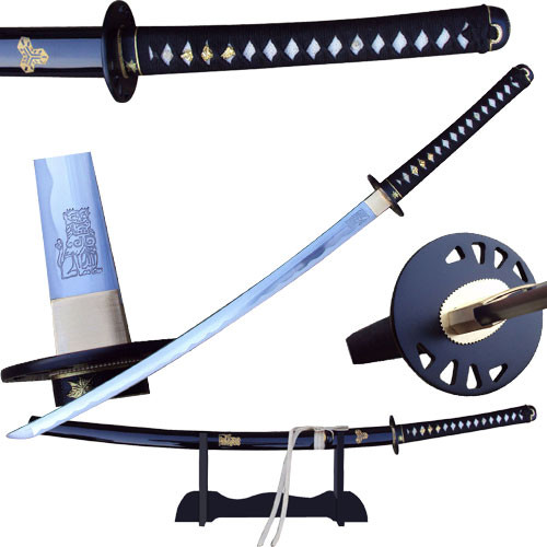 BRIDE Sword  Full Tang Battle Ready - Hattori Hanzo Steel